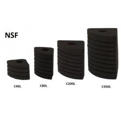Gąbka do filtra NSF C40L Corner 01