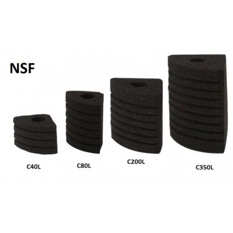 Gąbka do filtra NSF C200L Corner 03